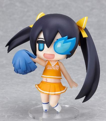 Puchitto Rock Shooter - Black ★ Rock Shooter - Cheerful Japan! - Nendoroid #180 - Puchitto Support ver.