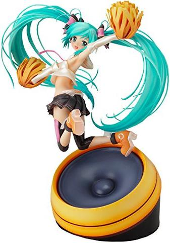 Vocaloid Hatsune Miku Cheerful JAPAN! Cheerful ver. - 1/8 - Reprint (Goodsmile)