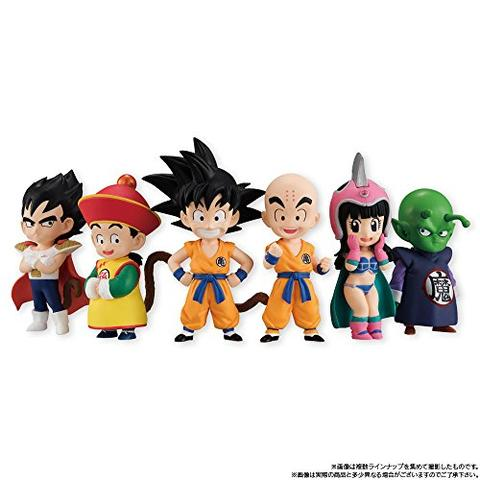 Dragon Ball - Kuririn - Candy Toy - Bandai Shokugan - Dragon Children vol.1 - Dragon Ball Adverge EX (Bandai)