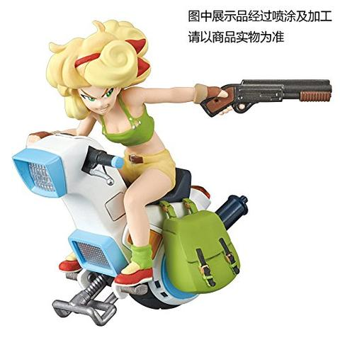 Dragon Ball - Lunch - Mecha Colle - Mecha Collection Dragon Ball Vol.3 - Lunch's One-wheel Motorcycle (Bandai)