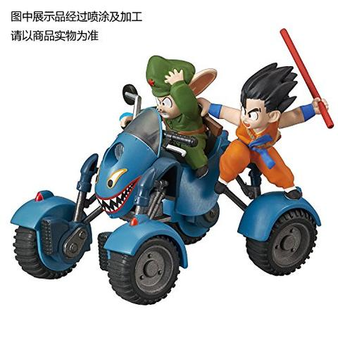 Dragon Ball - Son Goku - Ulong - Mecha Colle - Mecha Collection Dragon Ball Vol. 6 - Oolong`s Road Buggy (Bandai)