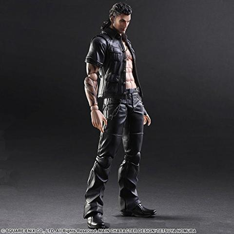 Play Arts Kai Final Fantasy XV Gladiolus Amicitia Action Figure Model Statue Toy