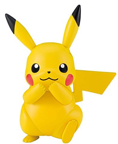 Pocket Monsters Sun & Moon - Pikachu - Pokémon Plamo - Select Series (Bandai)