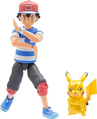 Pocket Monsters Sun & Moon - Satoshi - Moncolle Ex - Monster Collection - Z Move ver. (Takara Tomy)
