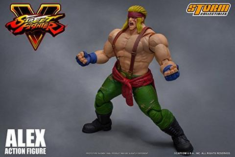 Street Fighter V - Alex - 1/12 (Storm Collectibles)
