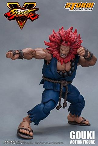 Street Fighter V - Gouki - 1/12 (Storm Collectibles)