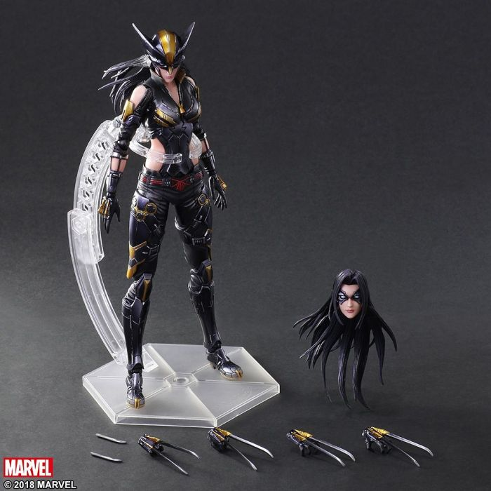 Square Enix Variant Play Arts Kai Marvel Universe Wolverine PVC Action Figure