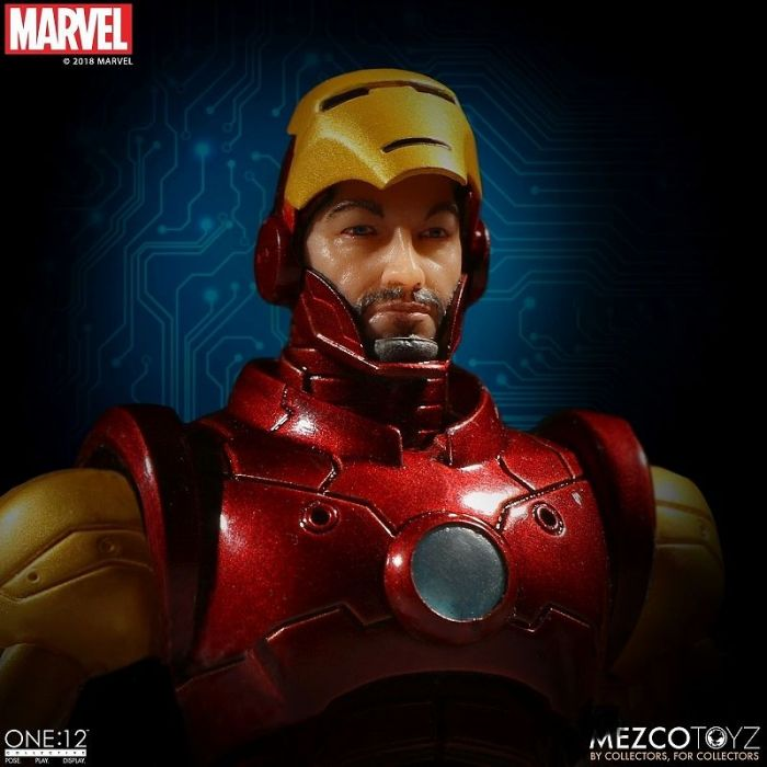 1/12 ONE:12 COLLECTIVE / MARVEL COMICS: IRON MAN ACTION FIGURE