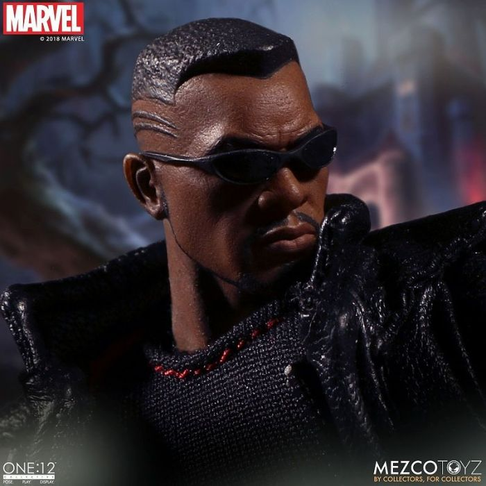 1/12 ONE:12 COLLECTIVE / MARVEL COMICS: BLADE ACTION FIGURE