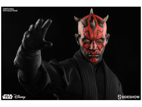 1/6 STAR WARS - FULLY POSEABLE FIGURE: LORDS OF THE SITH - DARTH MAUL (DUEL ON NABOO VERSION)